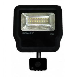 Đèn Pha LED Cảm Ứng Vi Sóng Cao Cấp FL1BR-20W
