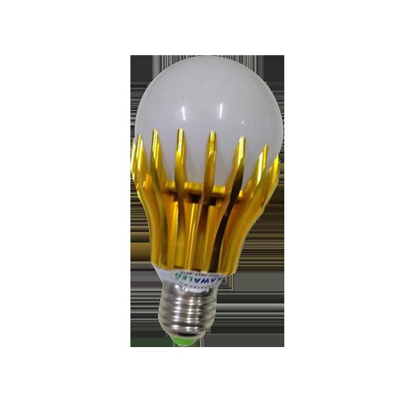 Bóng đèn Led Bulb tròn E27 - 5w kiểu vàng/trắng
