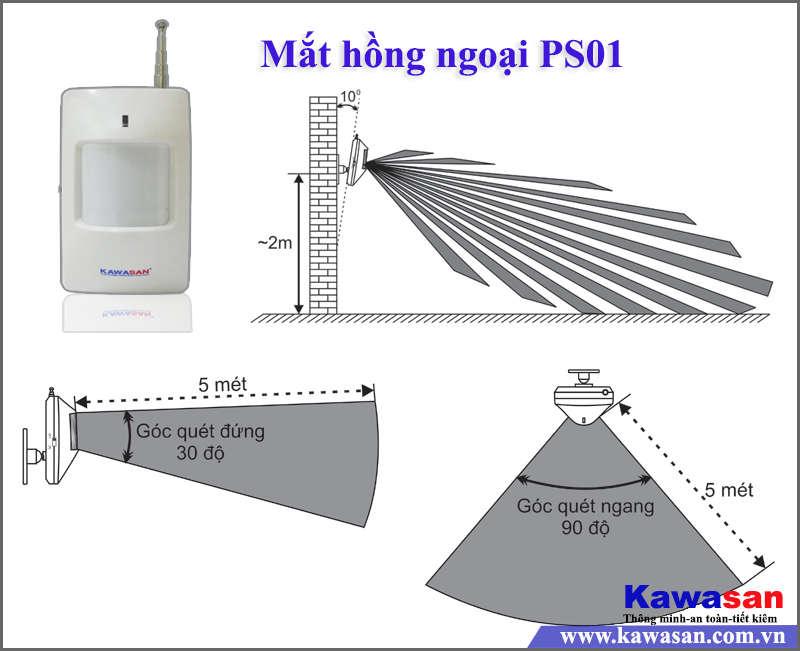 BÁO TRỘM QUA ĐIỆN THOẠI KW-260 SIM