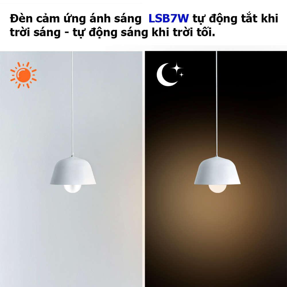 ĐÈN CẢM ỨNG ÁNH SÁNG LSB7W