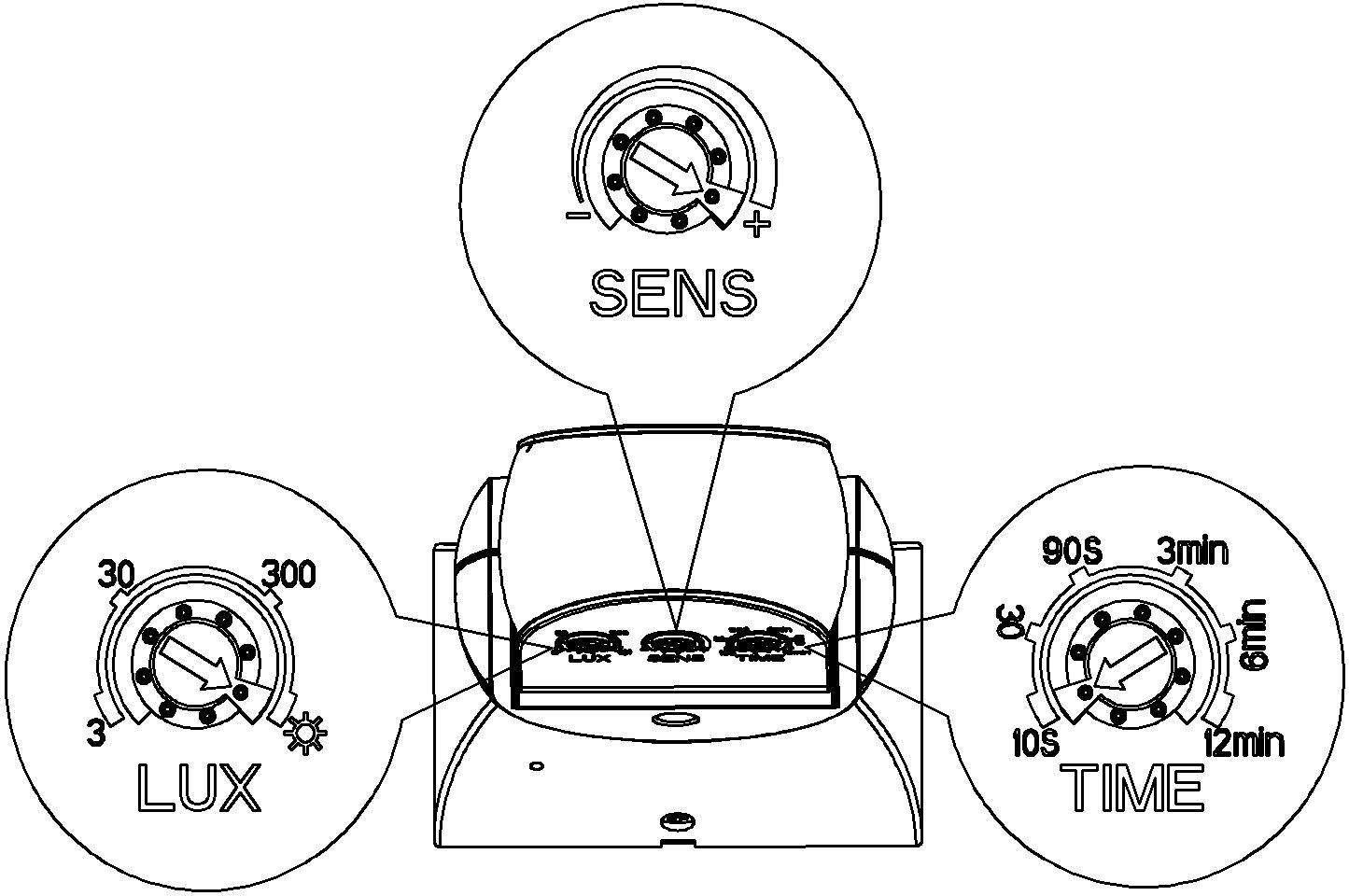 Công tắc cảm ứng vi sóng KW-RS05B
