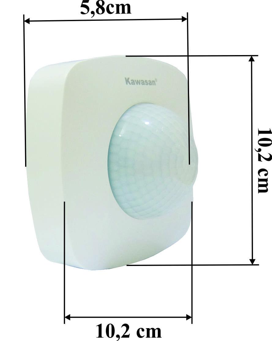 kích thước cảm ứng hiện diện ps286
