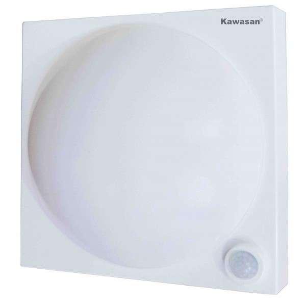 Đèn ốp trần cảm ứng hồng ngoại PS329B-12W có hệ thống chiếu sáng khẩn cấp
