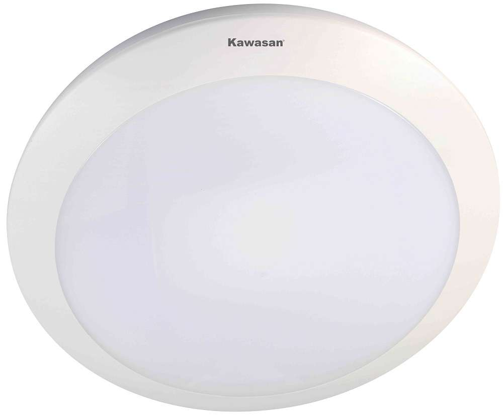 Đèn ốp trần cảm ứng ánh sáng sử dụng đèn led vòng 16W giúp tiết kiệm điện năng