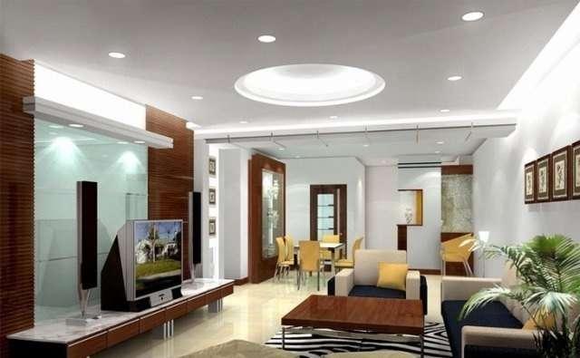 Không gian nhà có chiều sâu hơn khi sử dụng đèn âm trần cảm ứng
