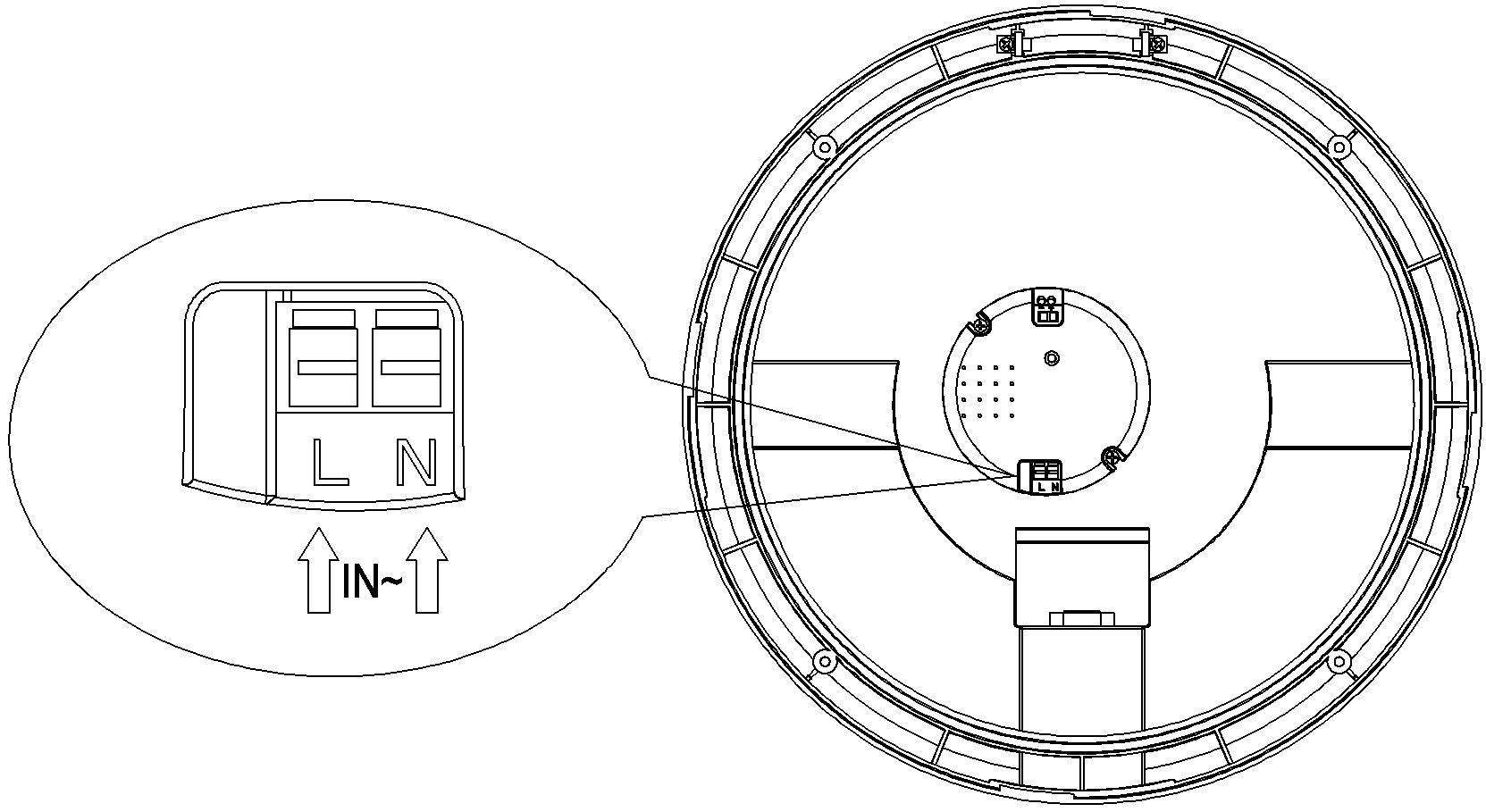 Đèn ốp trần cảm ứng ánh sáng LS329P sở hữu nhiều thông số kĩ thuật tiên tiến